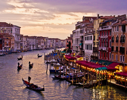 Grand Canal-Venice Italy