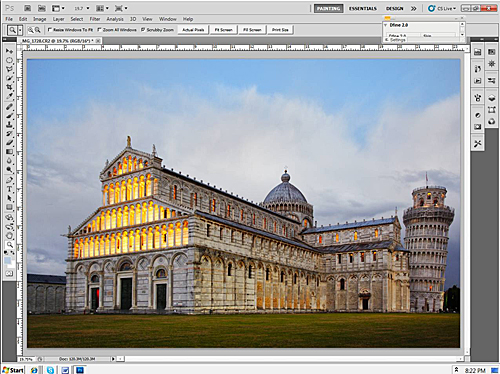 Leaning Tower of Pisa - Printable Image