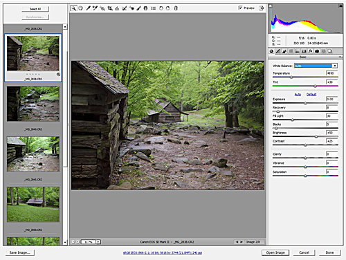 Photoshop CS 5.5 - Camera Raw 6.6