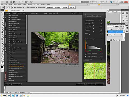 Color Efex Pro 3.0 Complete - Graduated Neutral Density Filter