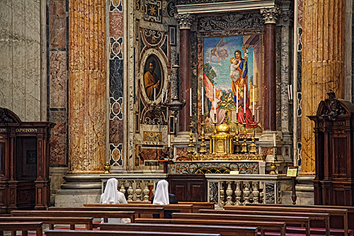 Quiet Reflection-Saint Peters, Rome