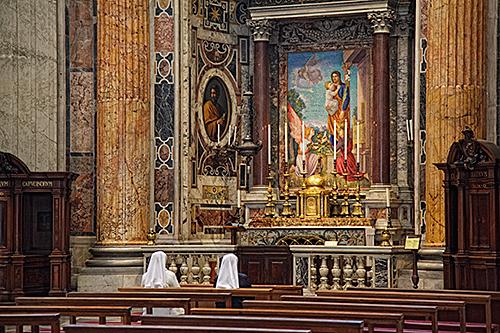 Quiet Reflection-Saint Peters, Rome