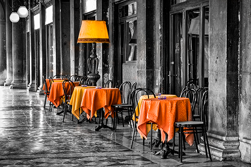 Venice cafe - Lightroom 4.4