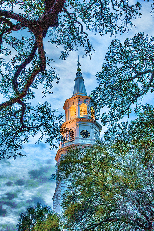 Charleston Church Processed using Topaz Simplify
