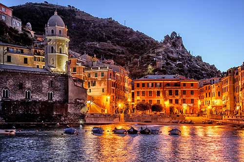 Sweet Light - Vernazza, Italy