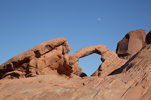 Natural Arch, Valley of Fire - unprocessed image