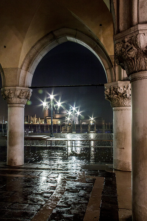 Morning Storm, San Marco, unprocessed image
