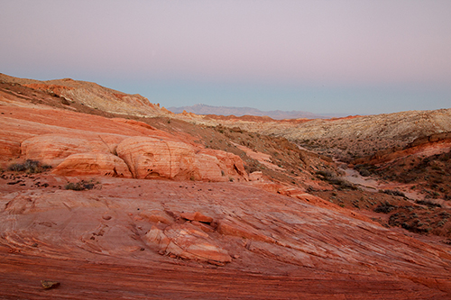 Valley of Fire sunset -  unprocessed image