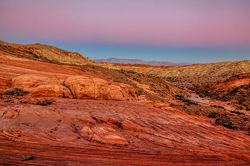 Valley of Fire processed with Topaz software