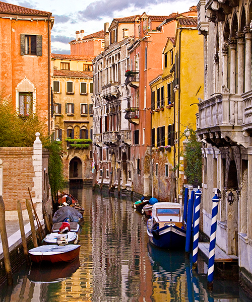 Venetian Canal  Captured during a location Workshop