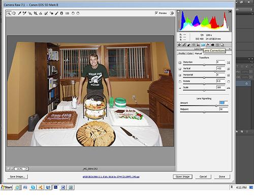 Lens Correction Tool