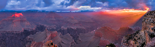 Hopi Point, Grand Canyon Panorama