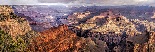 Shadow Lands, South Rim of the Grand Canyon