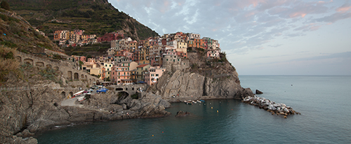 Unprocessed CR2 image of Manarola