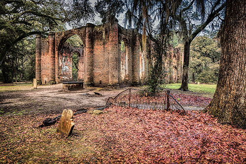 Sheldon Church processed using Nik HDR efex pro 2