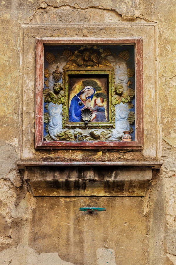 Madonna and child Rome