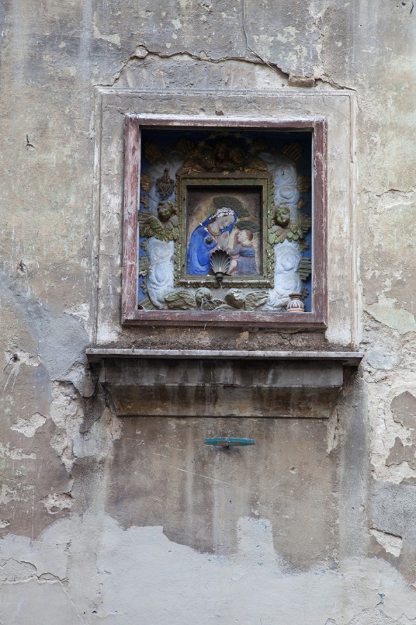 Madonna and child raw