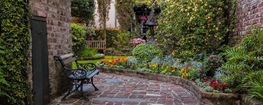 Charlestons Hidden Gardens