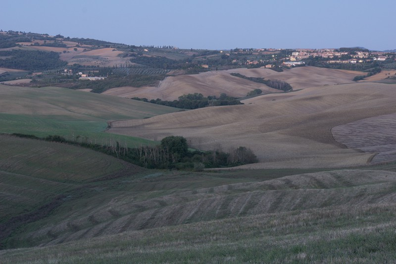 Val d'Orcia - Tuscany Italy - uprocessed