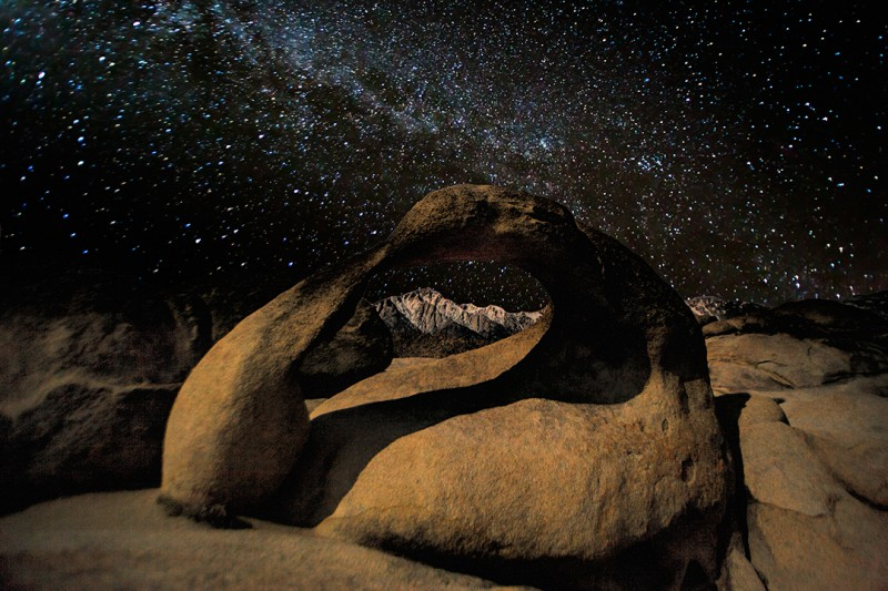 Mobius Arch-Milky Way