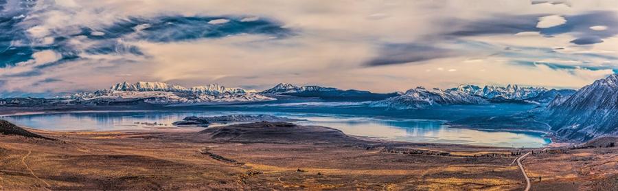 4 Image Pano Mono Lake