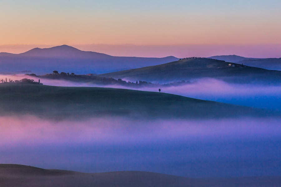 Morning Mist Val d'Orcia