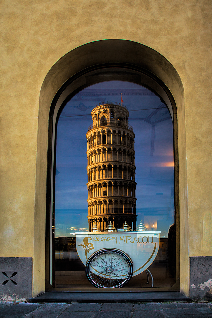 Anyone Gelato by the Leaning Tower
